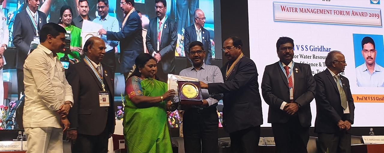 Water Management Award at IEI